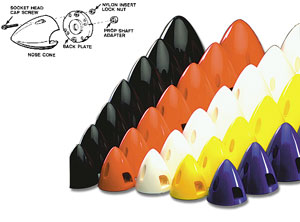 Dubro Plastic Spinners