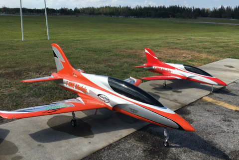 T-One Models Fortune 2m Sports Jet T1