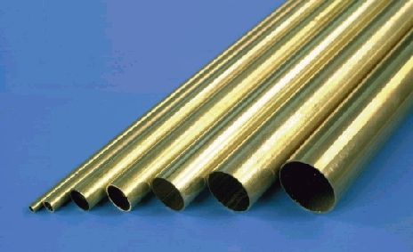 K&S Round Brass Tube