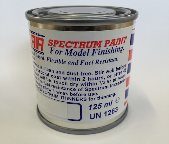 Spectrum Paint Tins
