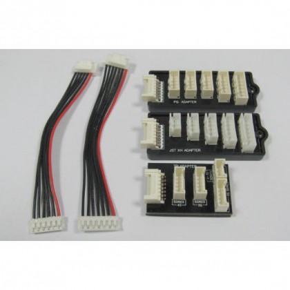 Graupner Balance Adaptor Set PQ/TP/XH 2-6 Cells - 3065.SET 4013389405713