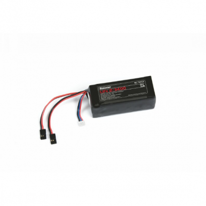 Graupner LiFe 2S 3400mAh 6.6V 20C JR Receiver Battery 7673.2 4013389460422