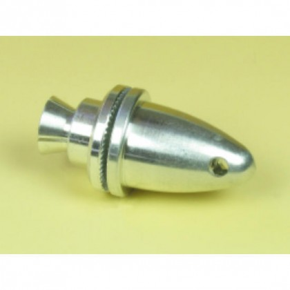 6.0mm Prop Adaptor With Spinner (Prop 18mm) By J Perkins 4447450