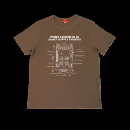 Powerbox T-Shirt - Light Brown XL Tshirt