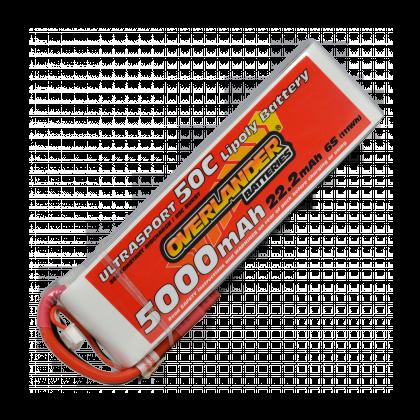 5000mAh 6S 22.2v 50C LiPo Battery - Overlander Ultrasport