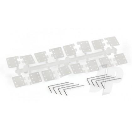 J Perkins SL70 Pin Hinge Nylon (8 Pack) 5509620