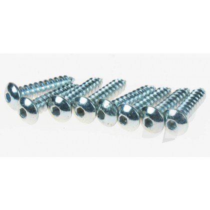 Dubro 4 x 1/2 Button Head Screw (8 Pack) DB527