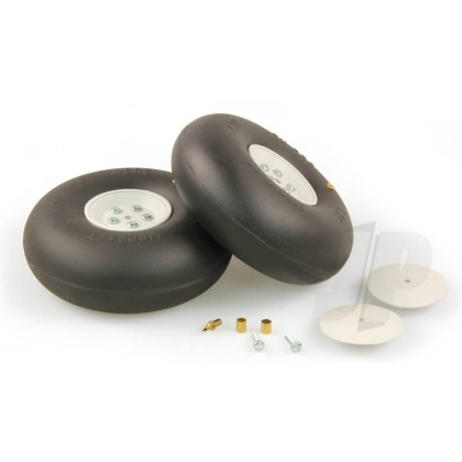 "4"" Dubro Smooth Inflatable Wheels (2 Pack) DB400RV"