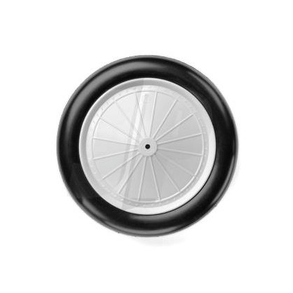 Dubro 3.50 in Vintage Wheels (89mm) (2) DB350V