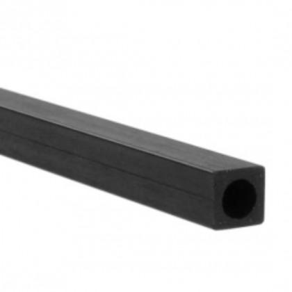 CARBON FIBRE SQUARE TUBE - CIRCULAR HOLE 6.0mm x 4.15mm x 1mt 5518560 505112111687