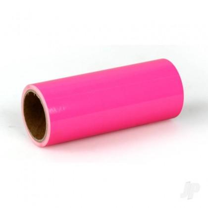 Oratrim Roll Fluorescent Neon Pink (14) 9.5cmx2m