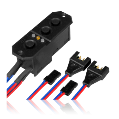 PowerBox Sensor Switch 7.4v MPX/JR 6321 with MPX & JR Connectors