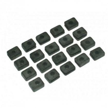 Futaba Servo Grommets Square Pk20 (EBS0622)