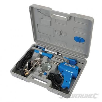 Silverline Electric Soldering Kit 9pce 845318
