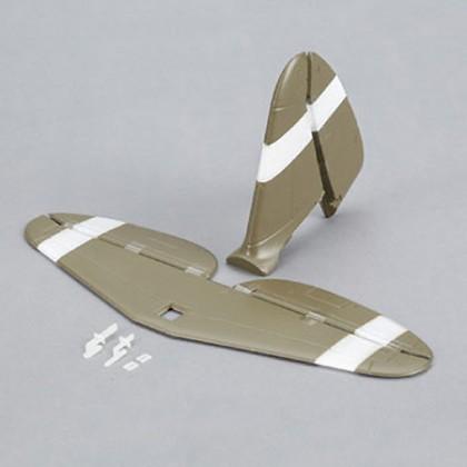 E-Flite Tail Set with Accessories: UMX P-47 BL EFLU3260