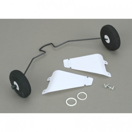 Hobbyzone Super Cub EP & LP & S Landing Gear with Tyres HBZ7106