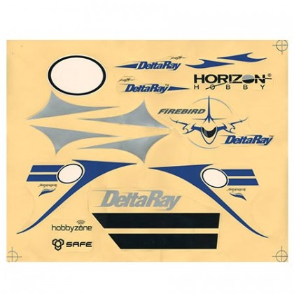 Hobbyzone Delta Ray Decal Set HBZ7910