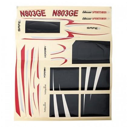 Hobbyzone Decal Sheet: Glasair S HBZ8402
