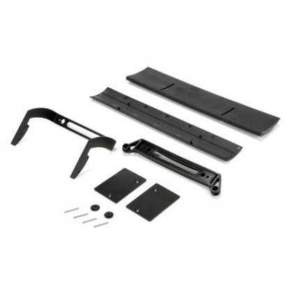 Losi Wing and Mount: 6IX LOS250005