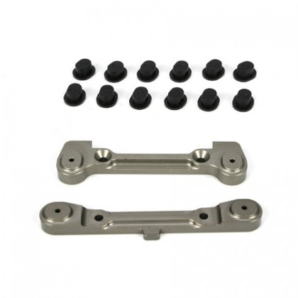 Losi Ten Adjustable Rear Hinge Pin Holder Set LOSB4113