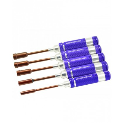 Arrowmax Nut Driver Set 3/16; 1/4; 5/16; 11/32 & 3/8x100m AM158801