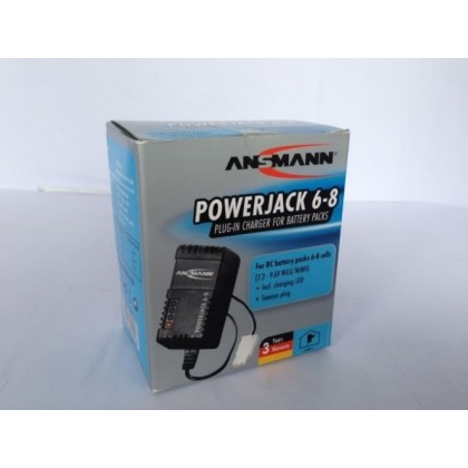 Ansmann Powerjack 6-8 Wall Charger For Nimh Batteries C606014