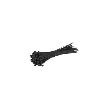Cable Ties - 2.5 x 100mm - Black - Pack Of 100