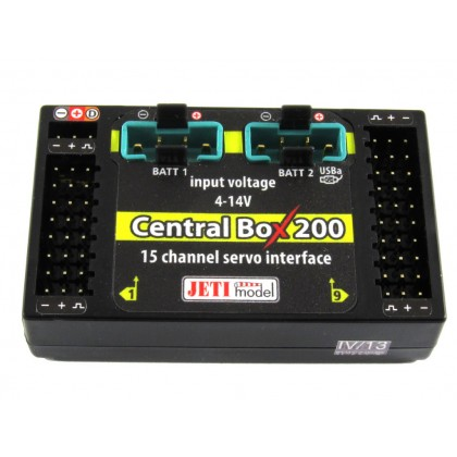 Jeti Central Box 200 J-CB-200-RS with Magnetic Switch