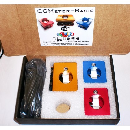 COG Center of Gravity Digital weight and balance meter Basic from Xicoy CGMeterBASIC