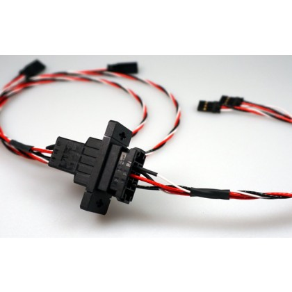 3 Pin Click Connect Multipin Connectors Ideal for Wing or Stab Wiring from IRC Emcotec A85250 / 2859