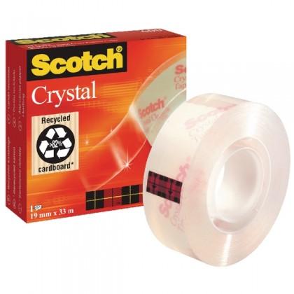 3M Scotch Crystal Tape 19mm x 33m