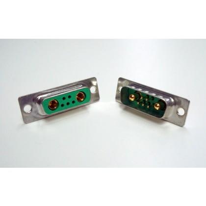 Emcotec D-Sub combi connector 7pin plug & socket A85072