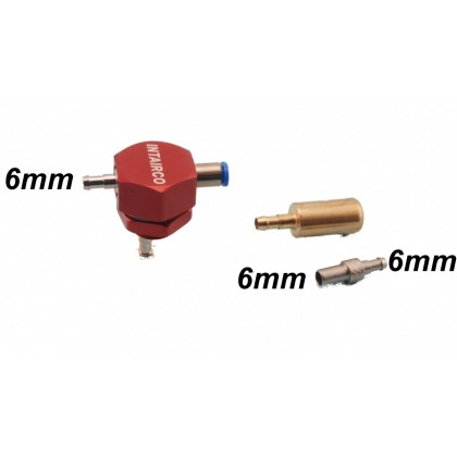 Intairco Fuel Drum Cap Adaptor- with Clunk and 6mm Fueling Probe IAC-294-2