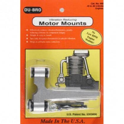 DUBRO DB682 QUIET MOUNT 4STR .45-.80 5513682