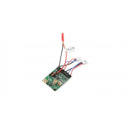 E-Flite AS6410NBLT RX:DSMX 6-Ch AS3X w/Twin Brushless ESC EFLAS6410NBLT