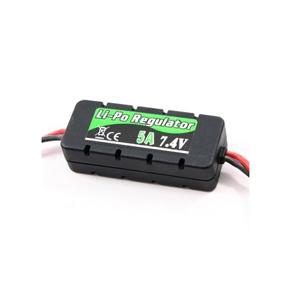 Etronix LiPo Regulator 7.4v 5A W/Casing 20x14x49mm ET0557