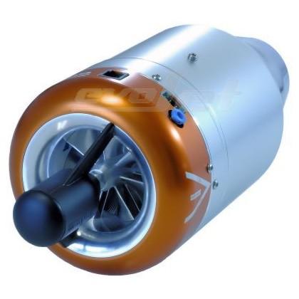evoJet B220ex Turbine Engine 180 to 220N Thrust Performance Options