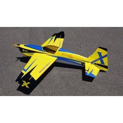 "Extreme Flight 60"" Slick 580 V2 Yellow / Blue 372YB"