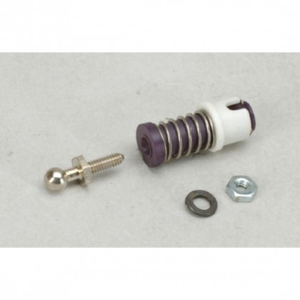 S562 Locking Sleeve Ball Joints 4-40 Ball Joint with steel ball (2-56 threads on ball)