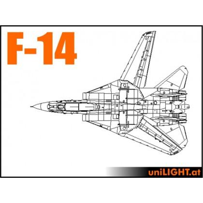 F-14 Tomcat 1:7 Scale Pro Bundle Scale Light Set from Unilight Model Lighting