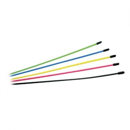 Fastrax Multi Coloured Assorted Antenna Tubes 6pcs FAST103-6