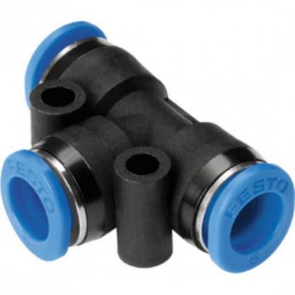 3mm Festo Tee Push Fitting QST-3
