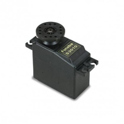 Futaba S3010 Servo Medium Duty Standard Sized Servo with Single Ball Bearing 0.16s / 6.5kg P-S3010