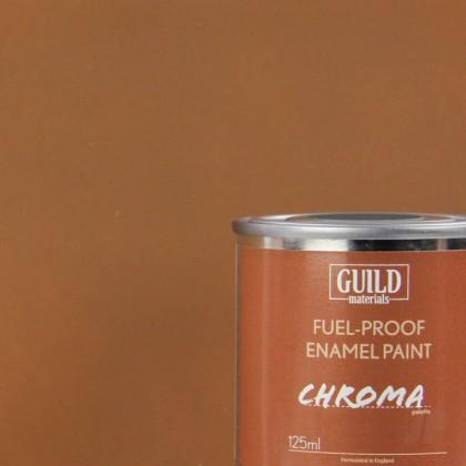 Guild Materials Matt Enamel Fuel-Proof Paint Chroma Dark Earth (125ml Tin)