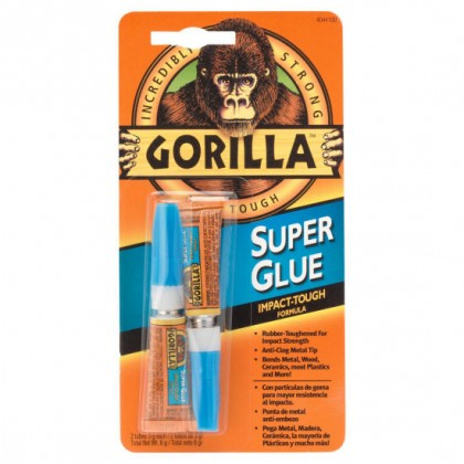 Gorilla Super Glue 2 x 3g Tubes