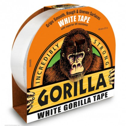 Gorilla Tape 48mm x 27m White