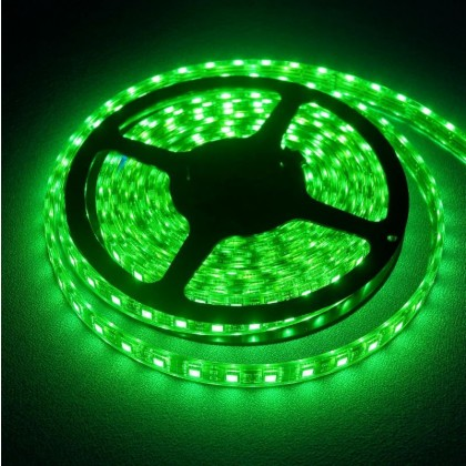 Green High quality waterproof LED Strip Ideal for Night Flying Sold Per Meter