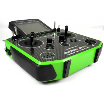 Jeti Duplex 2.4EX DS-16 Carbon Green Transmitter Multimode