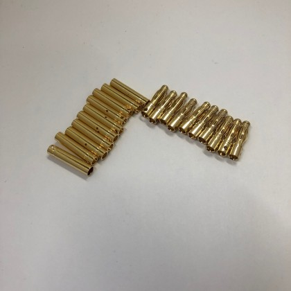 4mm Gold Bullet Connector Set - 10 Pairs