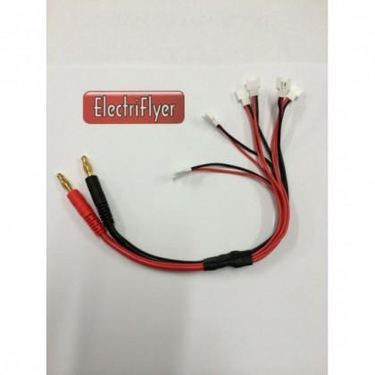 Parallel (x6) Hubsan X4 / Losi Micro / Walkera Charge Lead